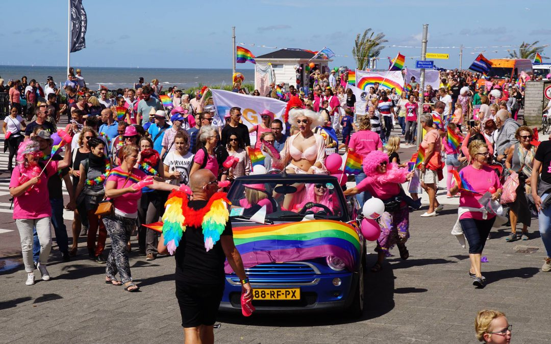 Pride at the beach 30 juli – 1 augustus 2018