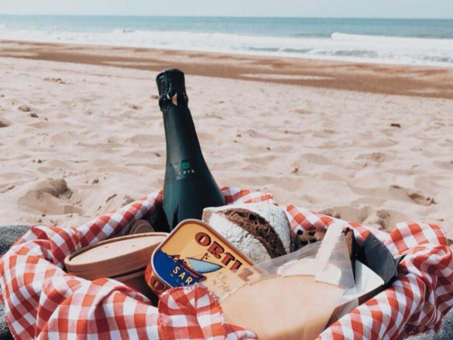 Picknick & Slapen aan zee