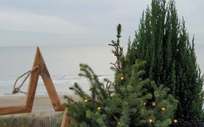 Kerst aan zee